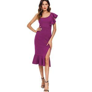 Dresses & Skirts - Magenta cocktail dress